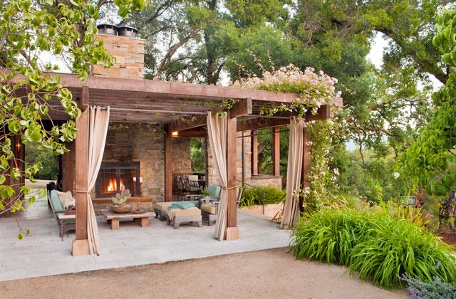 Dressel Pool Pavilion, Woodside , CA